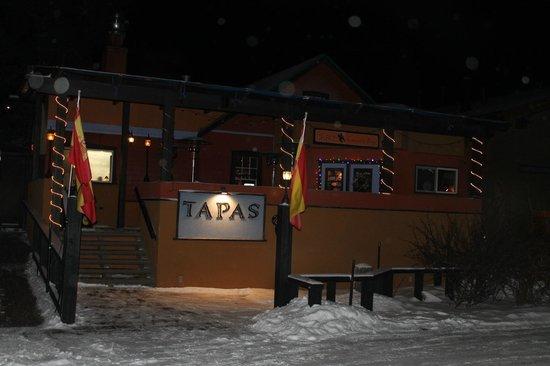 Tapas Restaurant : Outside of building
