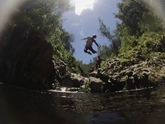 AfriCanyon River Adventures: Getting Air
