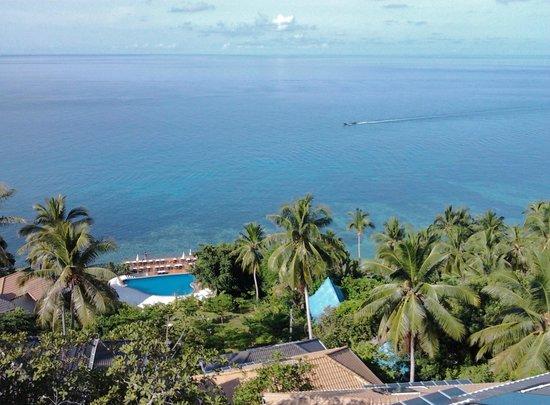 Pinnacle Koh Tao Resort: Blick vom Balkon