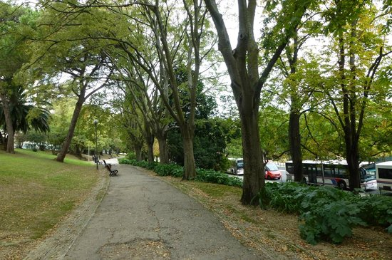 Dom Pedro Lisboa : だいぶ歩いた所の公園