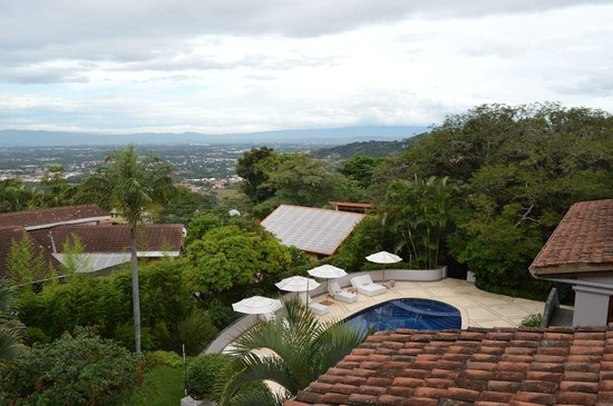 Hotel Alta Las Palomas : Great view over the central valley