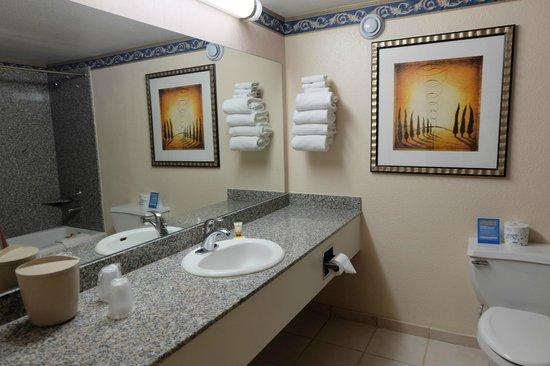 Circus Circus Hotel & Casino Las Vegas: Bathroom