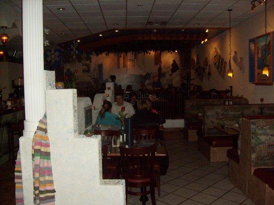 The Greek Islands Mediterranean Grill and Bar : Great  decor