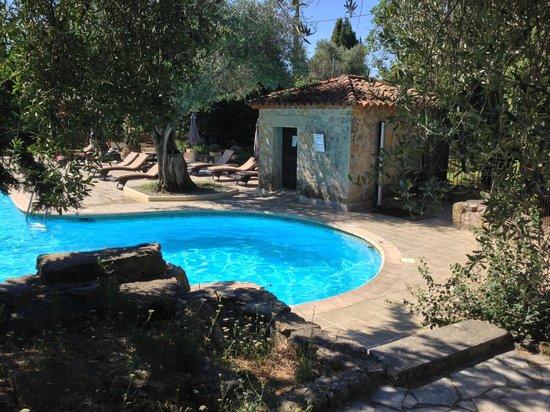Hotel Lune de Mougins: der gepflegte Pool-Bereich