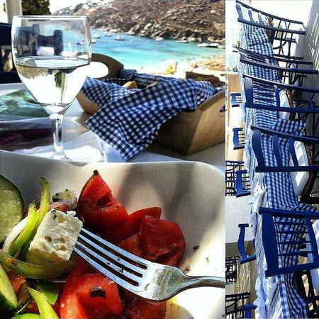 Grecotel Mykonos Blu Hotel : Pool Restaurant