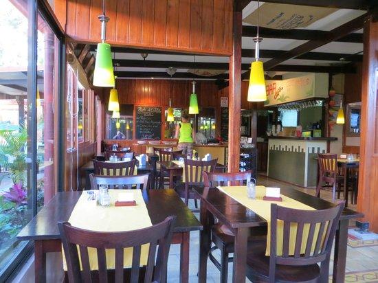 Hotel Rincon de San Jose: Ontbijt ruimte in de ''tuin''