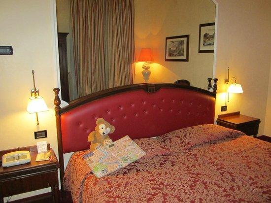 Colonna Palace Hotel: 部屋はこんな感じ