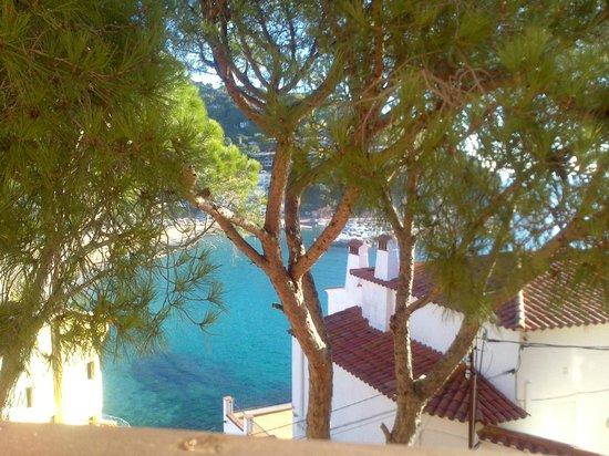 Casamar Hotel: Vista desde la habitación