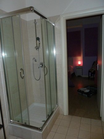 Trevi Fountain Guesthouse: sdb