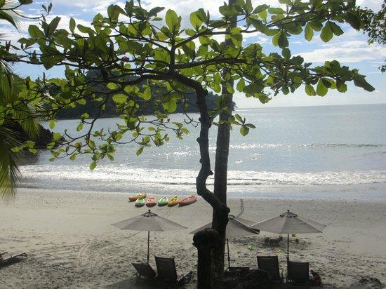 Tulemar Bungalows & Villas: Tulemar beach area