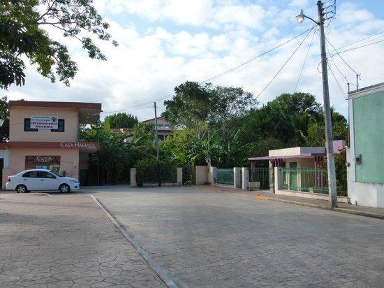 Casa Hamaca Guesthouse: Hotel von außen