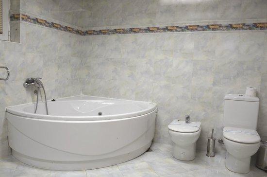 Hotel Aristocrat & Fish Restaurant: Bathroom