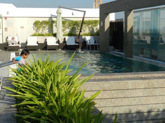 Novotel Suites Dubai Mall of the Emirates: Warm water pool