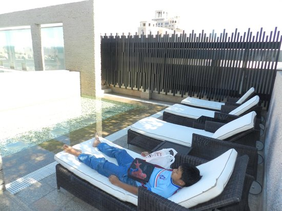 Novotel Suites Dubai Mall of the Emirates: Nice view from pool