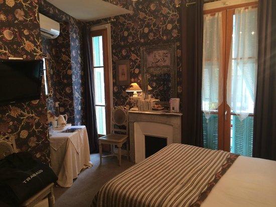 Hotel Villa Rivoli: Не самый простой номер