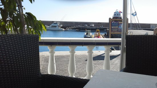 La Pappardella: View from my table
