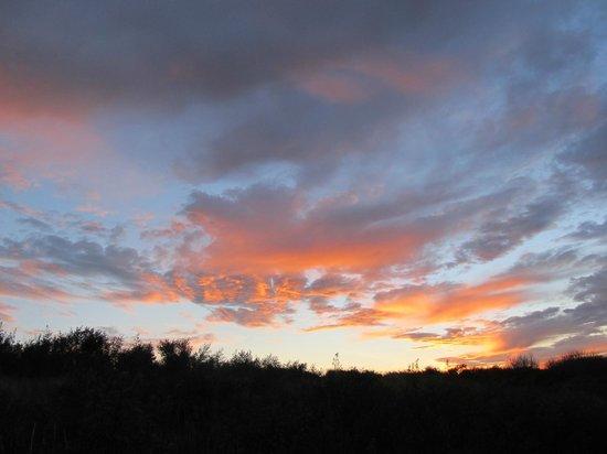 Donna Nook Nature Reserve: Sunset