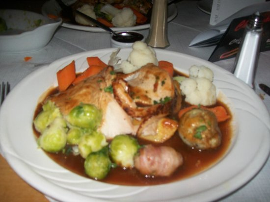 Sandringham Hotel: Feast fit for a king, well good King Wenceslas