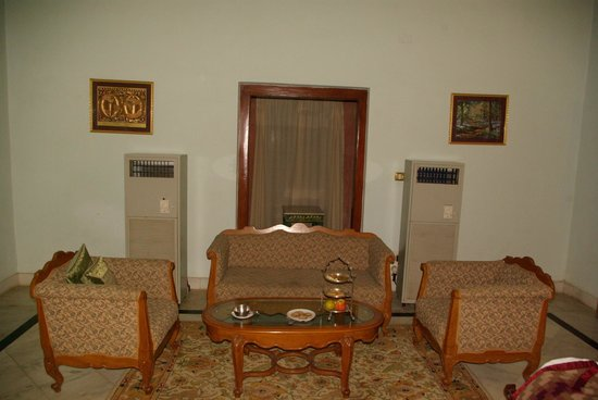 The Laxmi Niwas Palace: Modern airconditioning