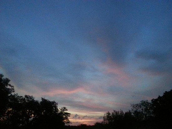 Sunset at Silonque Bush Estate