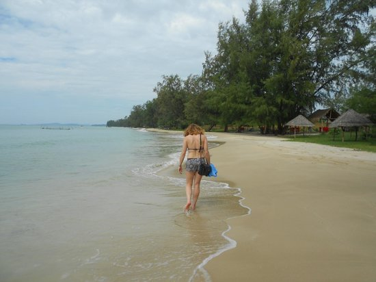 Mai Phuong Beach Resort: nearby beach