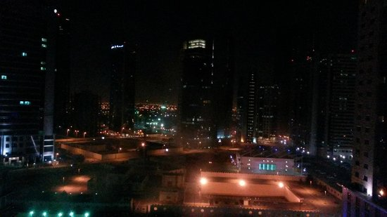 W Doha Hotel & Residences: Basic (not sea) view from room on 12th floor