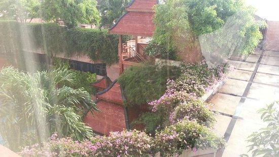 Landmark Bangkok: view out of the window