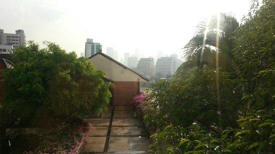 Landmark Bangkok: view out of window
