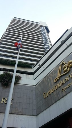 Landmark Bangkok: view from the hotel