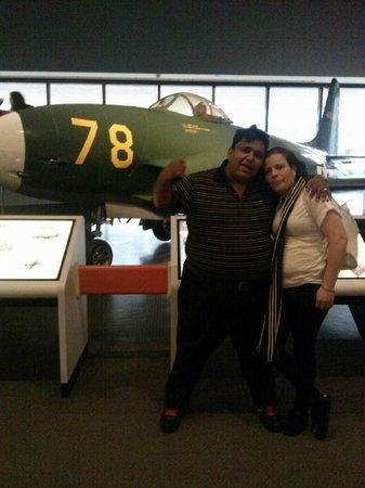 Museo Nacional del Aire y el Espacio: in the museum