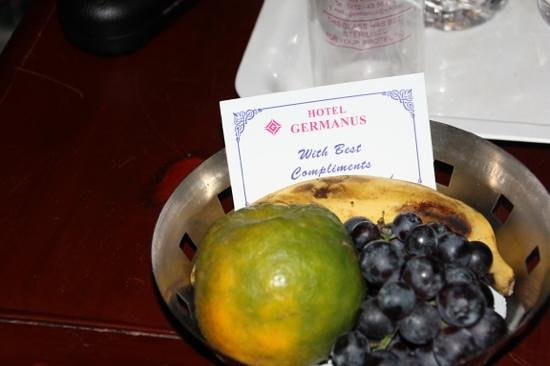 Hotel  Germanus : Fresh fruit