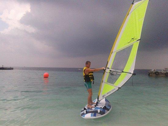 VOI Dhiggiri Resort : windsurf