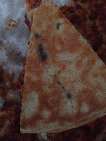 Keighley, UK: Mouldy pizza