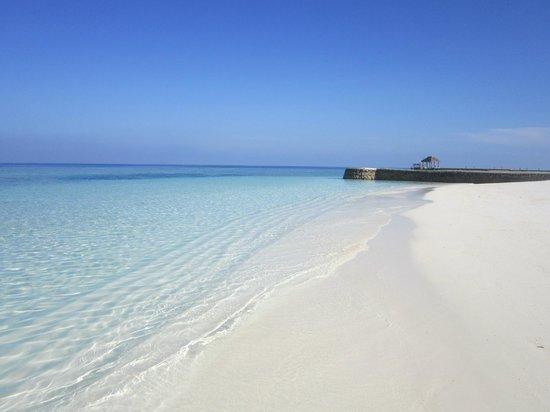 VOI Dhiggiri Resort : spiaggia