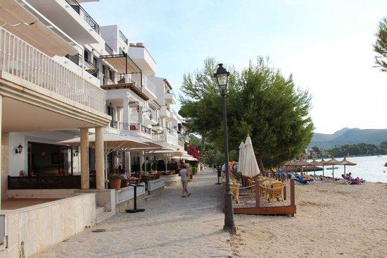 Hoposa Bahia Hotel: Promenade