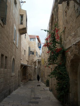 Jewish Quarter: One of the alleys