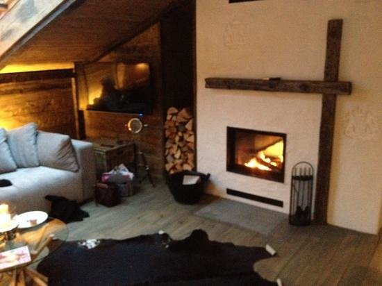 Relais-Chalet Wilhelmy: wohnzimmer chaletsuite