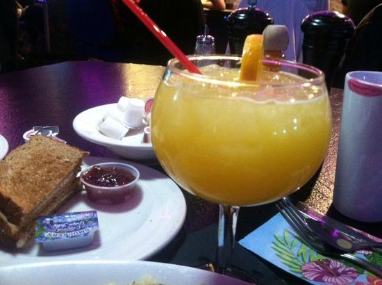 Peppermill's Fireside Lounge: Mimosa from Peppermills