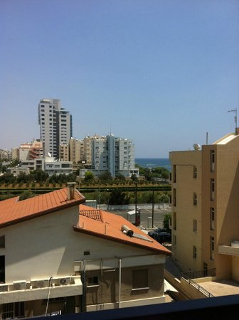 Kapetanios Odyssia: the view from room
