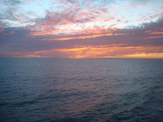 Comfort Inn & Suites Port Canaveral Area: sunset