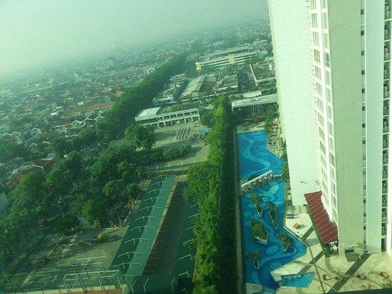 View From Room Window Picture Of Harris Hotel Conventions Kelapa Gading Jakarta Tripadvisor