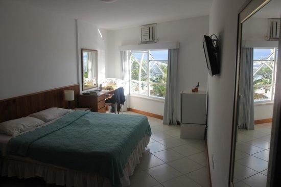 Hotel Arpoador: Unser Zimmer mit Meersicht