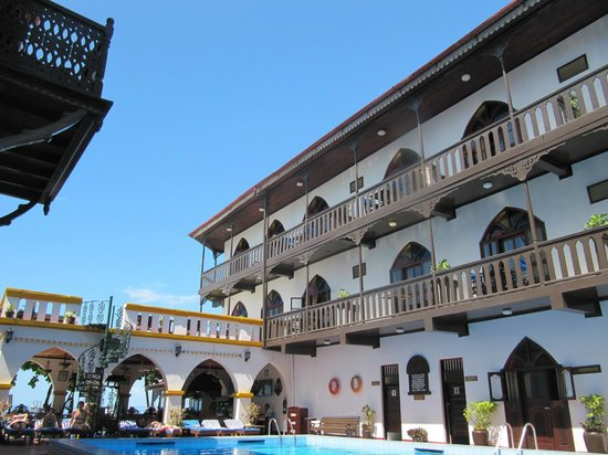 Tembo House  Hotel & Apartments: Piscina