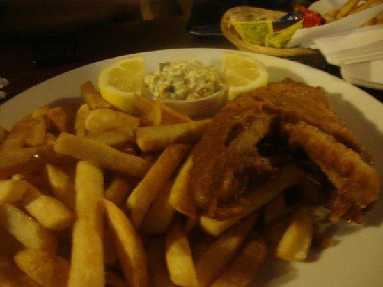 The Black Rock Pub: Fish & Chips