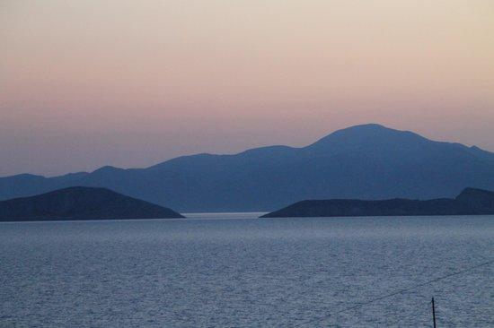 Markouli Studios: tramonto dalla terrazza