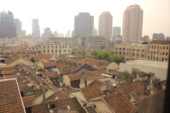 Jinjiang Inn Shanghai Nanjing Hotel: View from Room