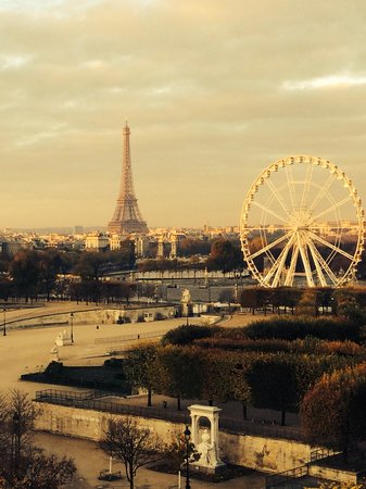 The Westin Paris - Vendome: Jr Suite Eiffel Tower view
