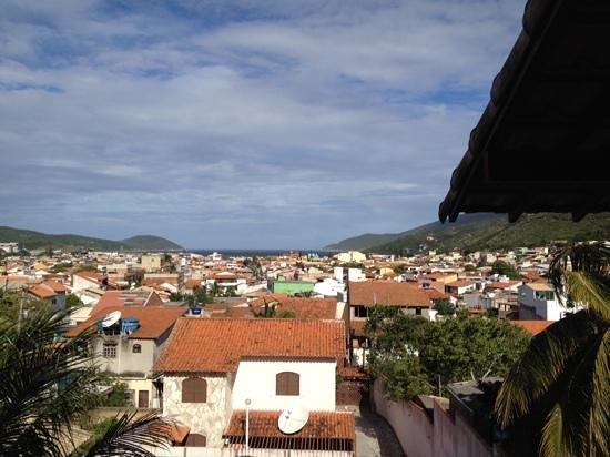 Pousada Recanto do Atalaia: view of our room