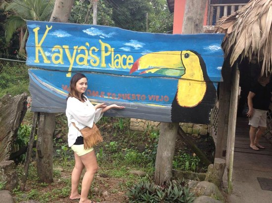 Kaya's Place: The Welcome Sign