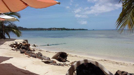 Idylle Beach : vu de la terasse